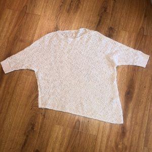 Eileen Fisher Asymmetrical Sweater S